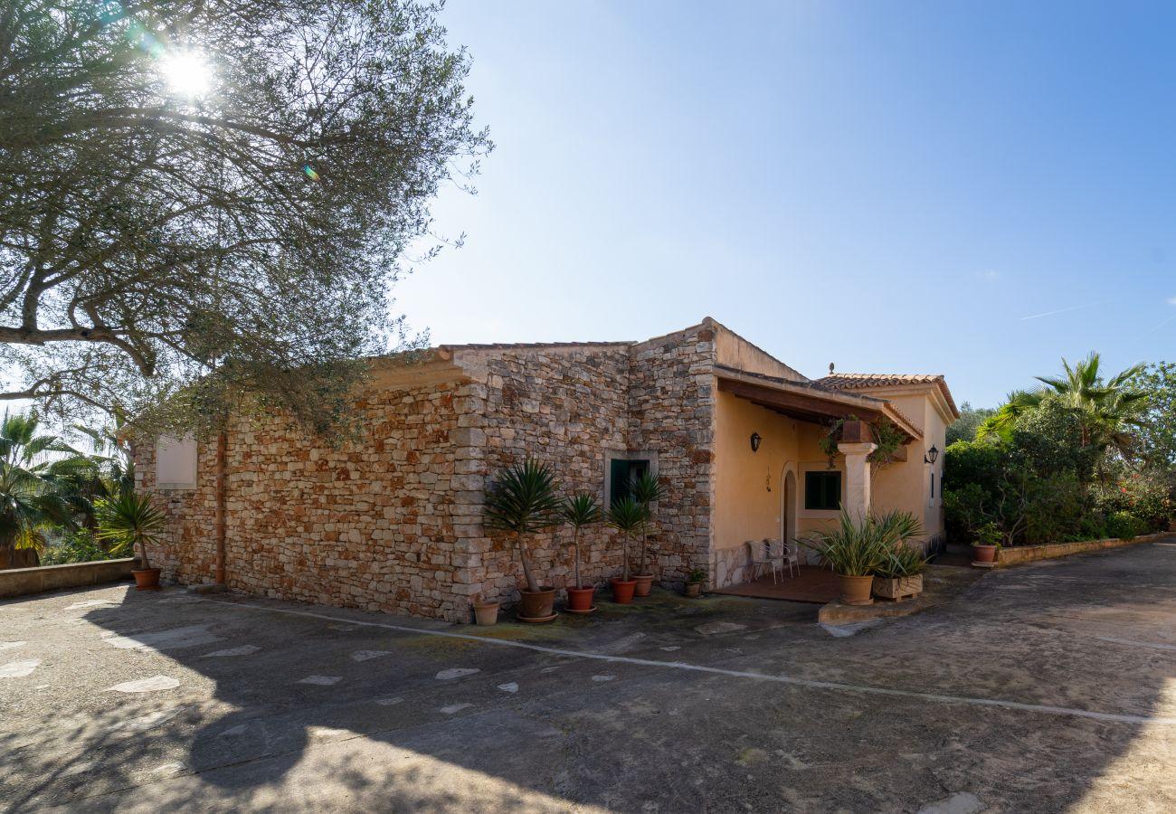 Casa rural en Santanyi - Es Recer