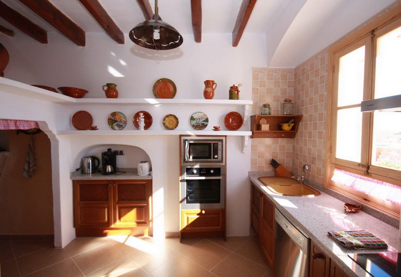 Casa rural en Calonge - Na Corme Nova
