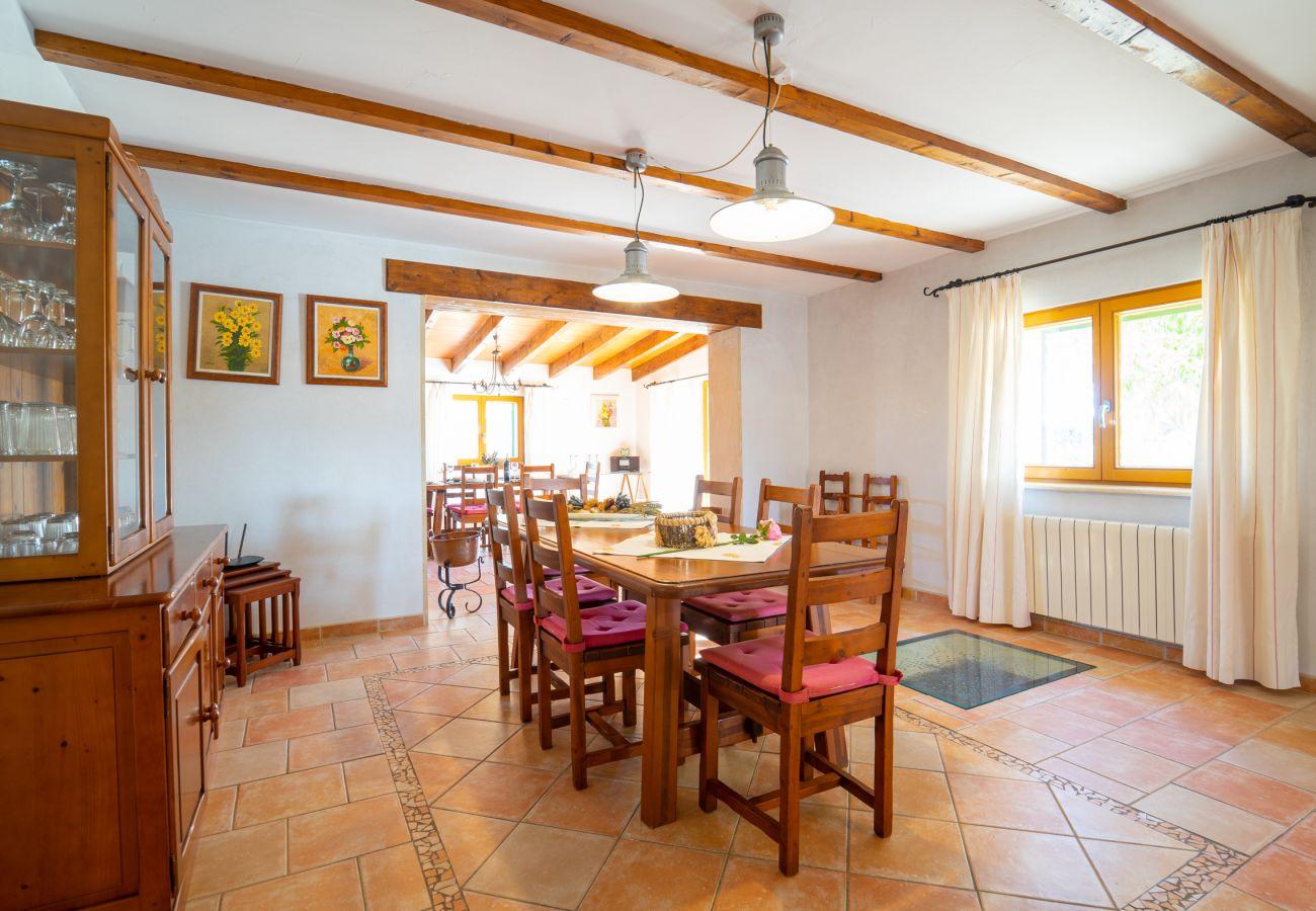 Casa rural en Cala Figuera - Can Talaia